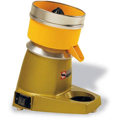 Juicer Santos matfer bourgeat aluminum santos centrifugal citrus juicer