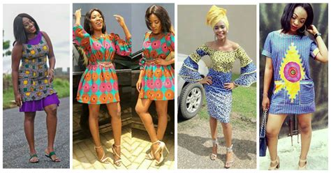 lastest ankara style for short gown fabulous ankara short gown dresses amillionstyles com