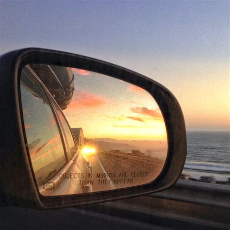 rear view rear view mirror sunset www pixshark images