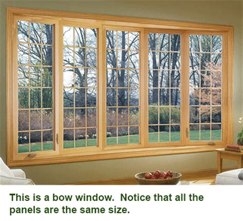 bay window vs bow window bow vs bay windows what s the cost difference