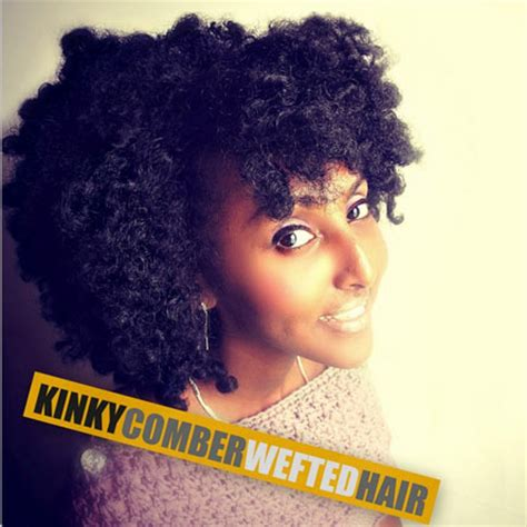 fingercomber unit kinky comber wefted hair fingercomber com