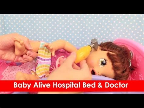 baby alive bed baby alive hospital bed doctor check up on lucy doll