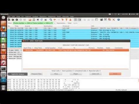 tutorial wireshark voip session initiation protocol