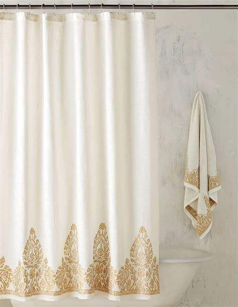 white gold curtains 17 best ideas about gold shower curtain on pinterest