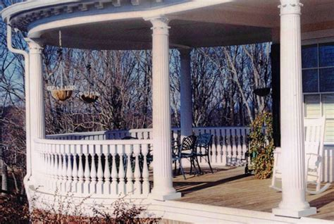 Decorative Porch Posts by Decorative Railing Gallery Timeless Architectural