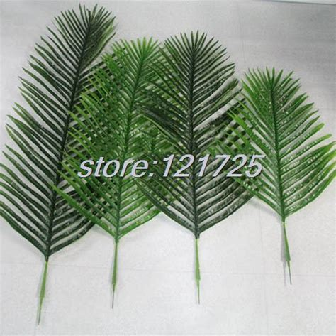 How To Make Palm Tree Leaves Out Of Paper - diy artificial palm tree plant leaf branches foliage