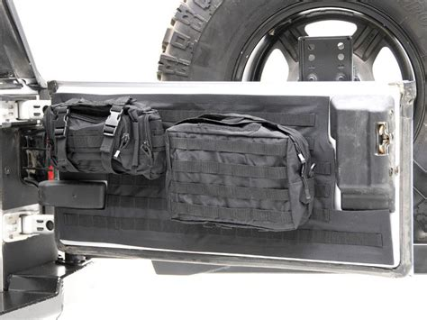 jeep tailgate storage smittybilt 5662301 smittybilt g e a r tailgate cover in
