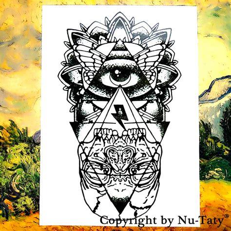 tato alis waterproof aliexpress com buy the evil eye temporary tattoo body