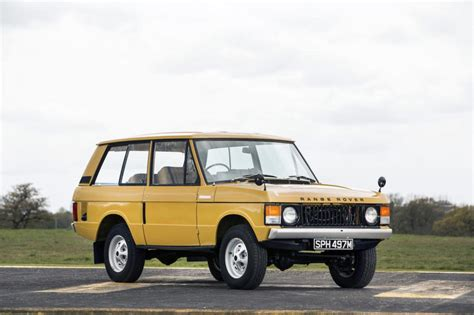 land rover vintage range rover classic two door