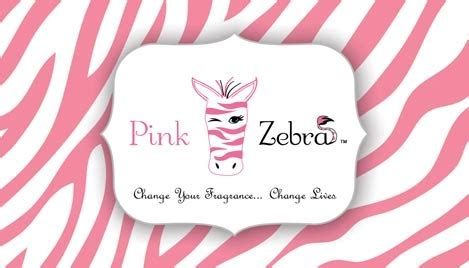 Pink Zebra Business Card Design 1 Pink Zebra Business Card Template Free
