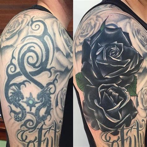 black tribal tattoo cover up 17 best ideas about cover up tattoos on
