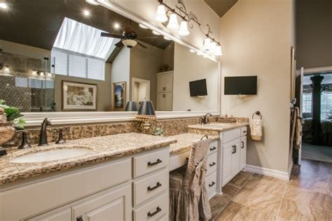 master bath in plano dfw improved home