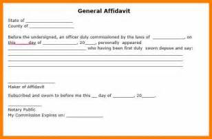 general resume example 3 affidavit blank form resume pictures