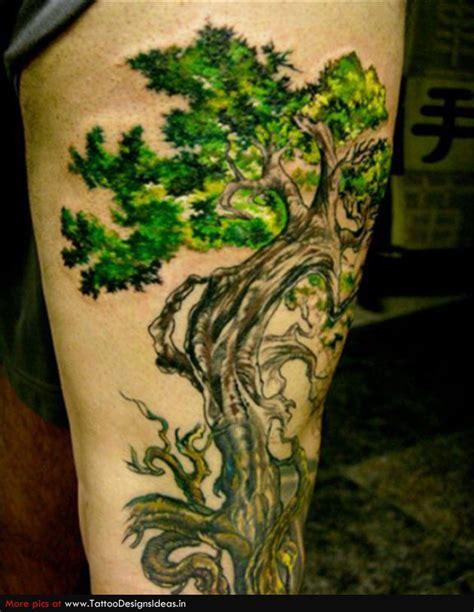 tree of life tattoo design tattoo design ideas 20 tree of life tattoos on leg