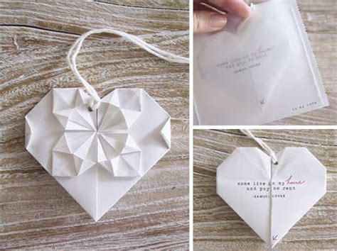 Origami Wedding Invitations - dalal s origami wedding invitation diy origami