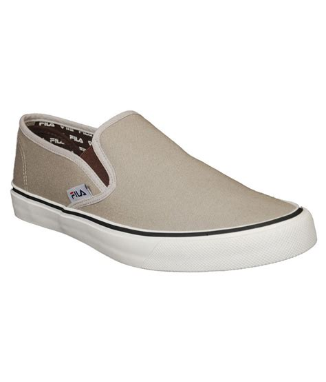 fila beige canvas casual shoes price in india buy fila