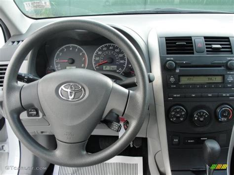 2014 Toyota Corolla Le Interior 2009 Toyota Corolla Le Ash Dashboard Photo 37898471