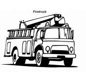 Cartoon Fire Truck Pictures  Clipartsco