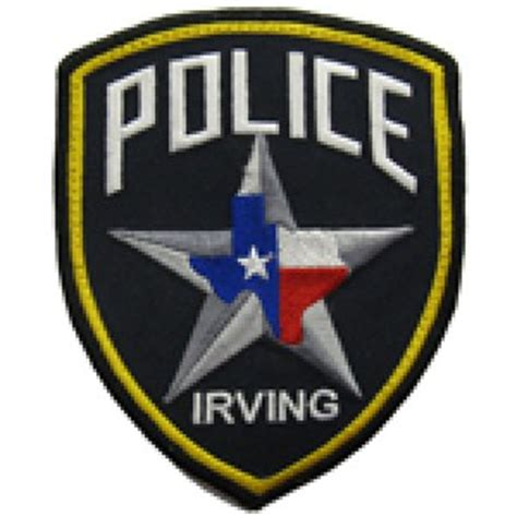 Irving Tx Arrest Records Officer Wright Hawkins Irving Department