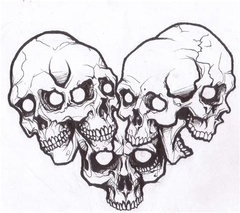 skull tattoo flash designs image detail for skull design by demonology
