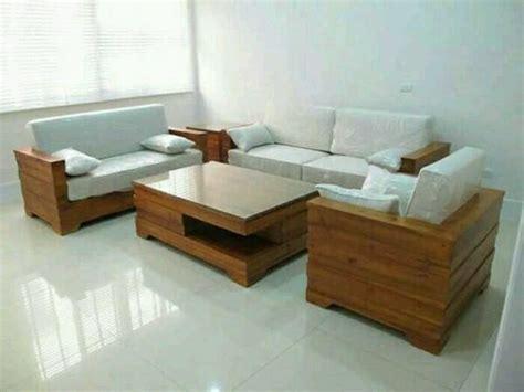 Kursi Tamu Ligna Furniture jual kursi tamu minimalis box jati di lapak jingga store