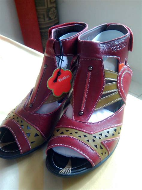 Sepatu Sandal Wanita Kickers Twinz jual sepatu sandal wanita kickers ori ikaswara shop