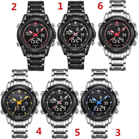 Naviforce 9050 Original Termurah reloj naviforce 9050 deportivo militar led digital sport stainless steel ebay