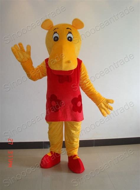 Backyardigans Costumes China Hippo Backyardigans Mascot Costume 198