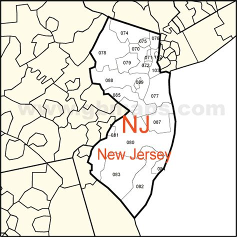 zip code map jersey city new jersey state zip codes pictures to pin on pinterest