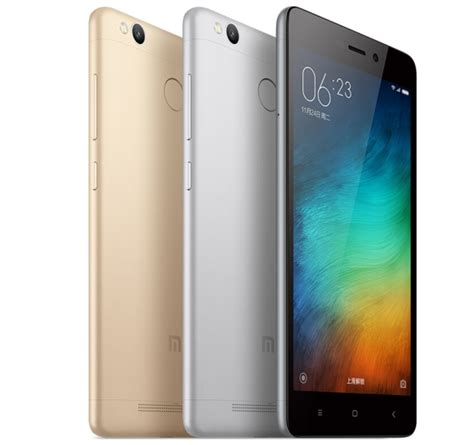 Hp Xiaomi Not 3 2g16gb xiaomi s redmi 3 pro packs more power and a fingerprint