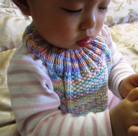 free knitted baby bib patterns cable stay on baby bib free knitting pattern