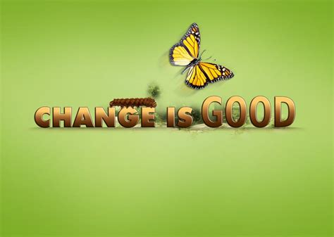 Change Is searching for change is