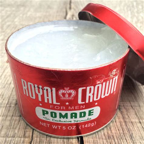 Pomade Royal Crown by Royal Crown Pomade 5 Oz Sivletto