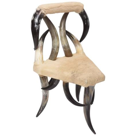 Horn Furniture by Vintage Steer Horn Chair At 1stdibs