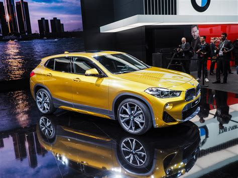 car bmw 2018 2018 detroit auto show the new bmw x2