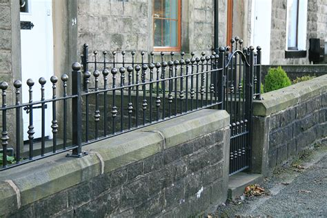 Wrought Iron Wall Top Garden Railings North Valley Forge Garden Wall Railings