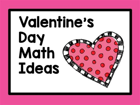 s day math 3689 best images about s day math ideas on