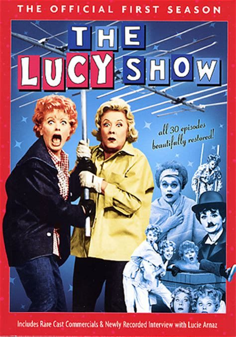 the lucy show the lucy show the official first season dvd