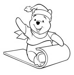 winnie pooh christmas coloring pages 187 coloring pages kids
