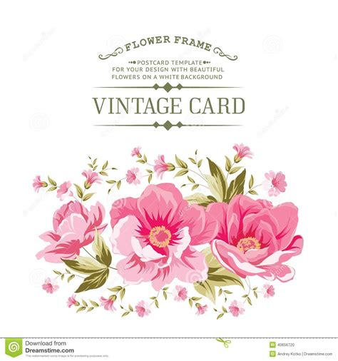 peony clipart vintage peony clipart