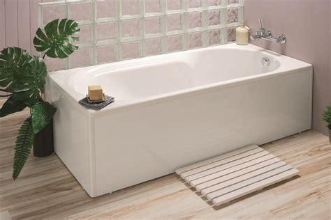 baignoire droite avec tablier tablier de baignoire clip s allibert