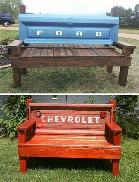 1000 ideas about truck tailgate bench on
