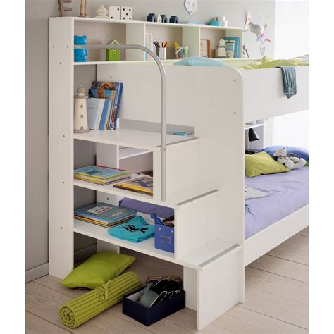 Parisot Bibop Bunk Bed Parisot White Bibop Bunk Bed With Optional Drawer Bed