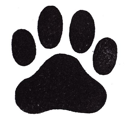 puppy paw prints new calendar template site