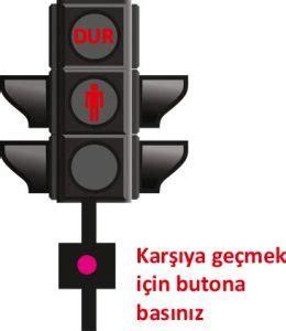 trafik isiklari ve anlamlari trafigi yoeneten ve