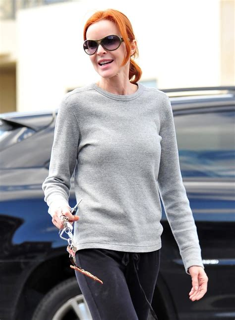 marcia cross z mężem marcia cross and family out in brentwood 1 of 16 zimbio