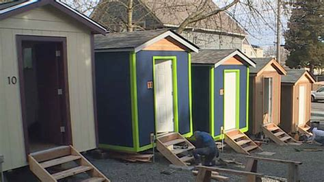 tiny houses seattle seattle has tiny houses for homeless maybe rv park kgw com
