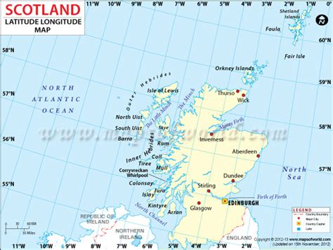 Scotland Address Finder Latitudes And Longitudes Of Us Cities Images