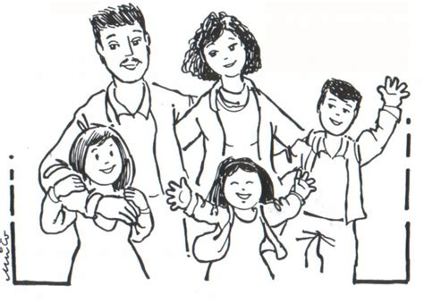 preschool coloring pages about families 20 free printable family coloring pages