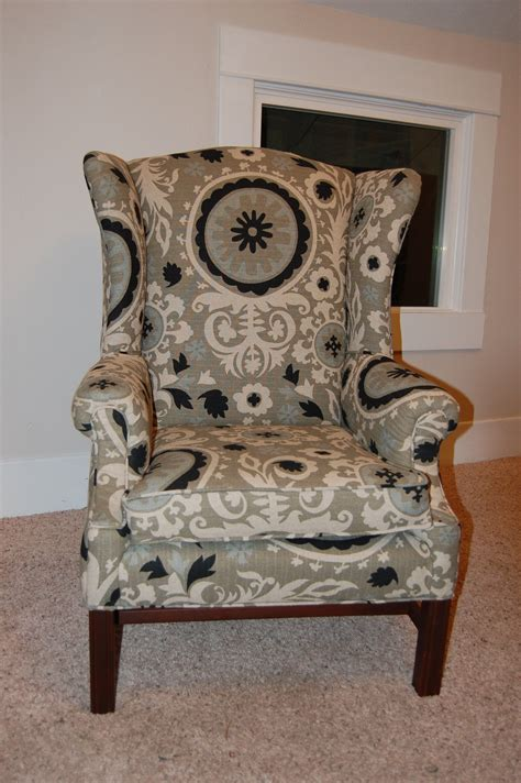 what kind of fabric to reupholster a couch how to reupholster a wingback chair wingback chairs